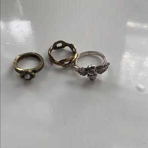 Jewelry - Three Rings